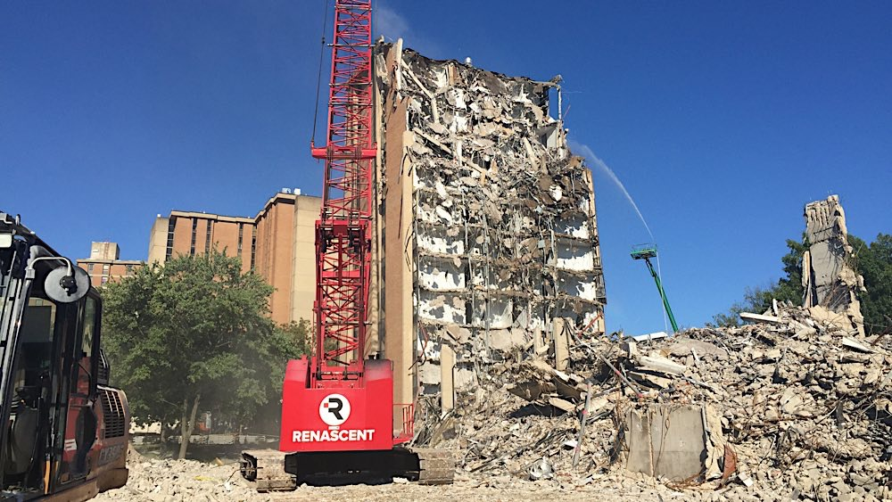 UT Andy Holt Housing demolition photo 5