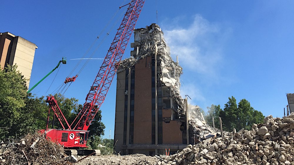 UT Andy Holt Housing demolition photo 7